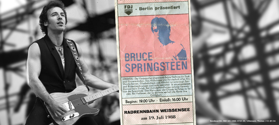 Bruce Springsteen East Berlin
