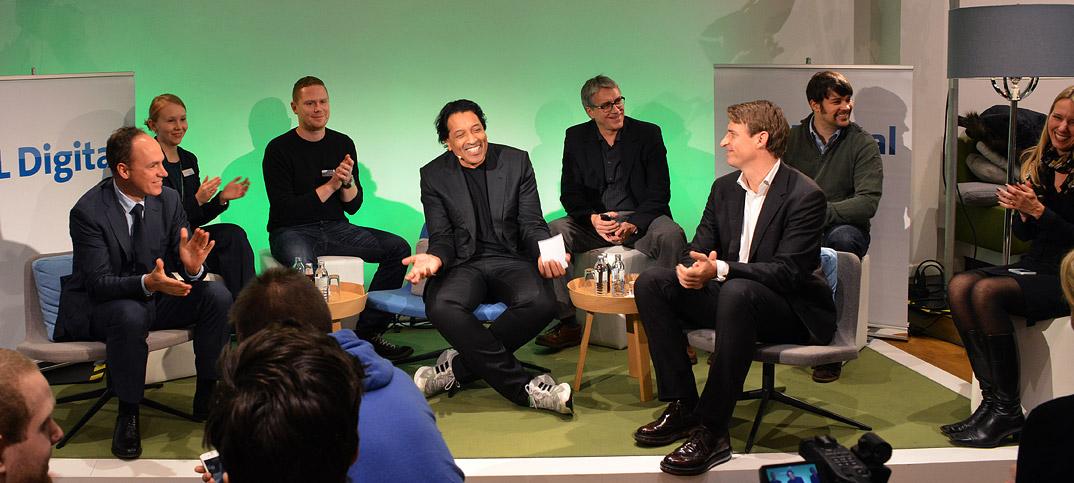 Christoph Keese, Kay Oberbeck & Cherno Jobatey in UdLDigital Talkshow