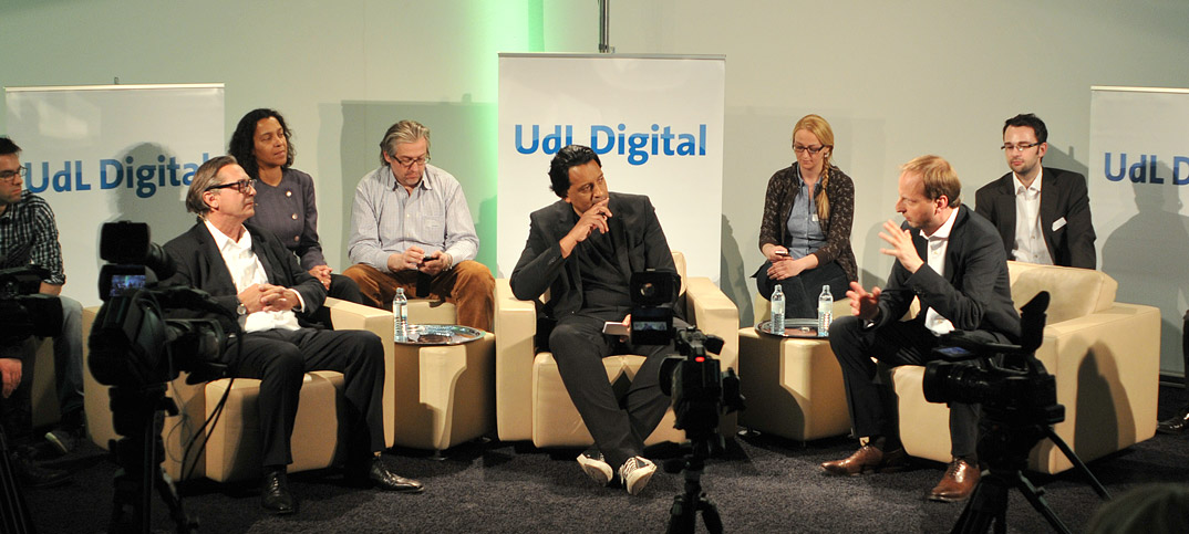 Thomas Heilmann Manfred Hart & Cherno Jobatey in UdLDigital Talkshow