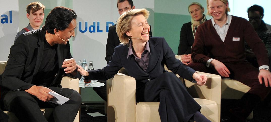 Ursula von der Leyen & Cherno Jobatey UdLDigital Talkshow