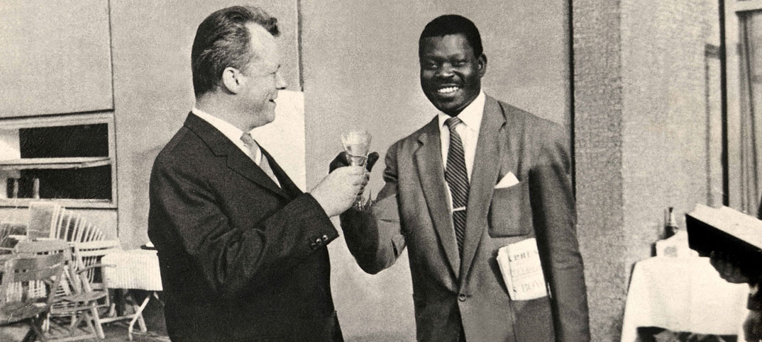 Willy Brandt & Cherno Jobatey