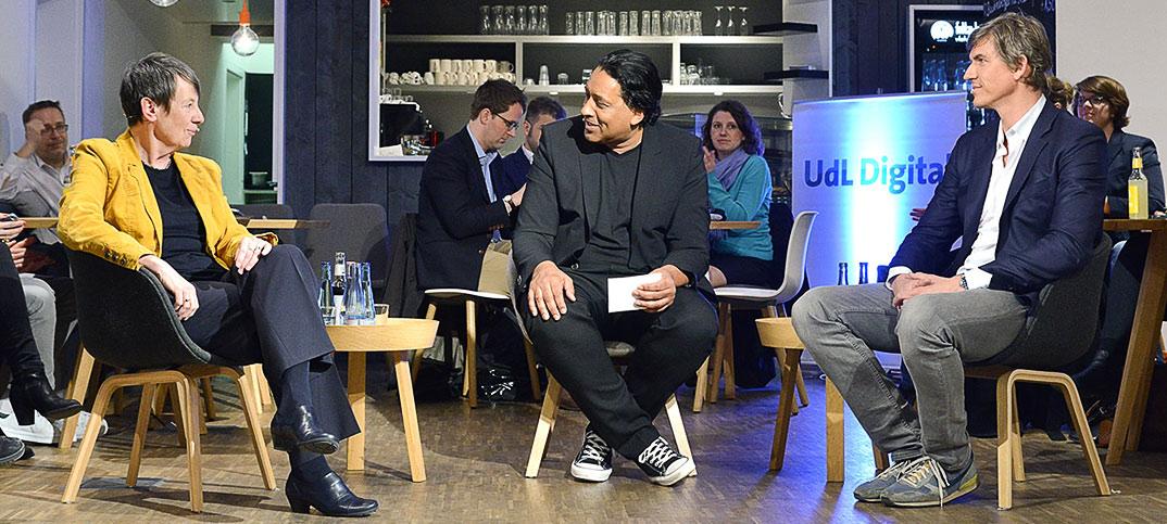 Barbara Hendricks, Philipp A. Pausder & Cherno Jobatey UdLDigital Talkshow