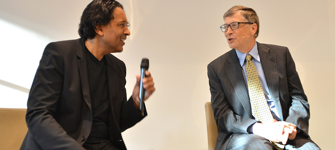 Bill Gates & Cherno Jobatey