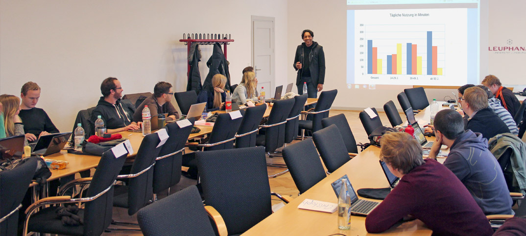Cherno Jobatey lectures Leuphana University Lüneburg