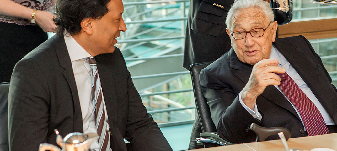 Henry Kissinger & Cherno Jobatey