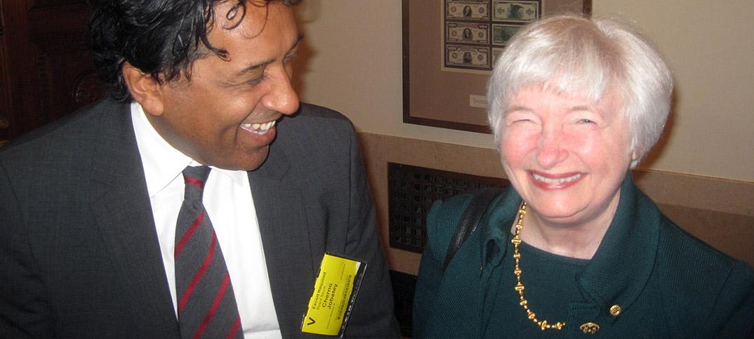 Janet Yellen & Cherno Jobatey