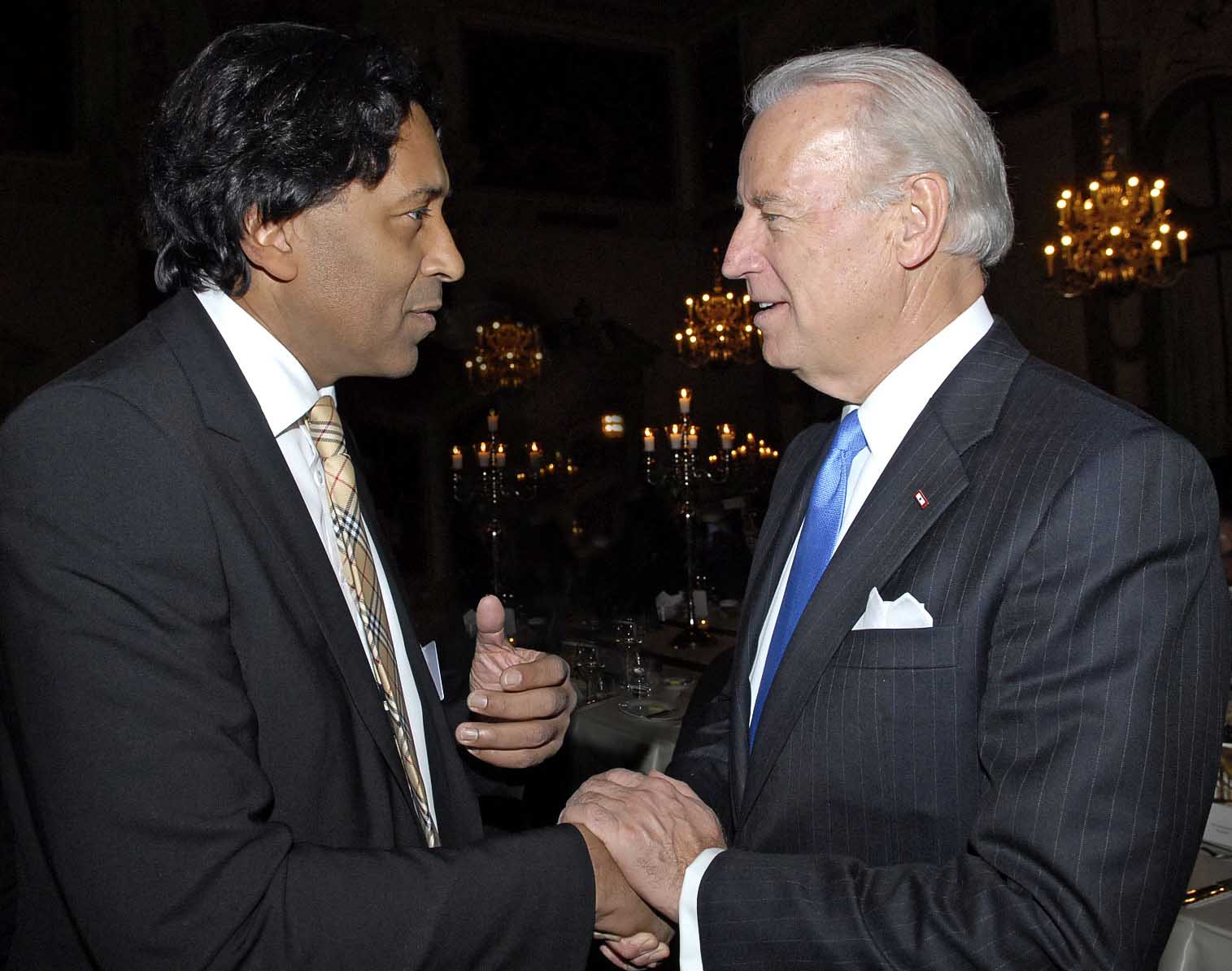 Joe Biden & Cherno Jobatey