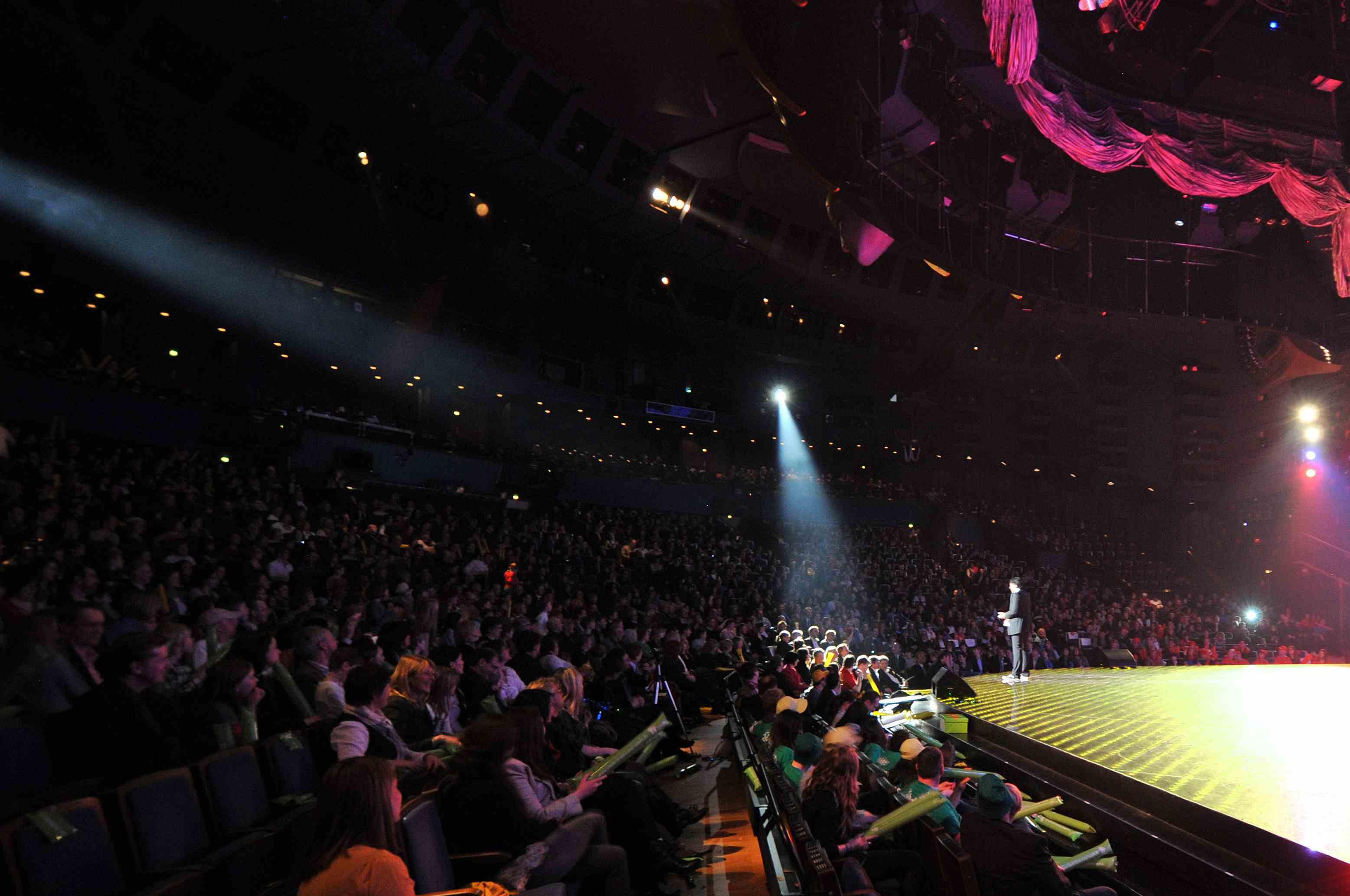 Cherno Jobatey on stage