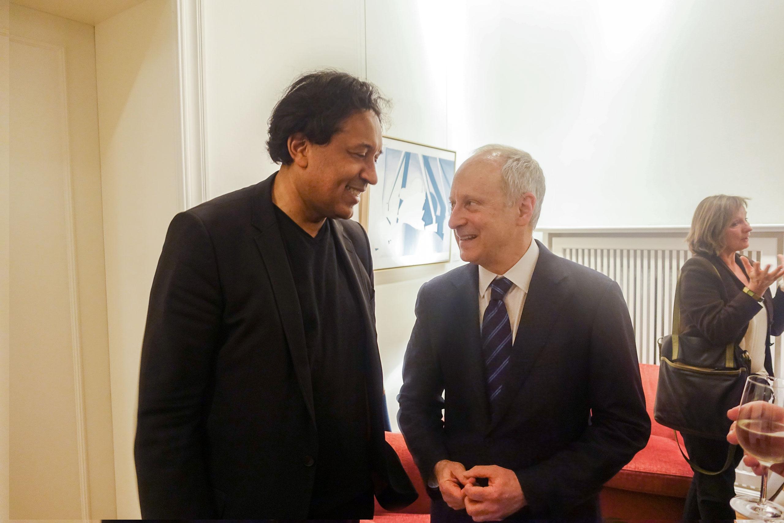 Michael Sandel & Cherno Jobatey