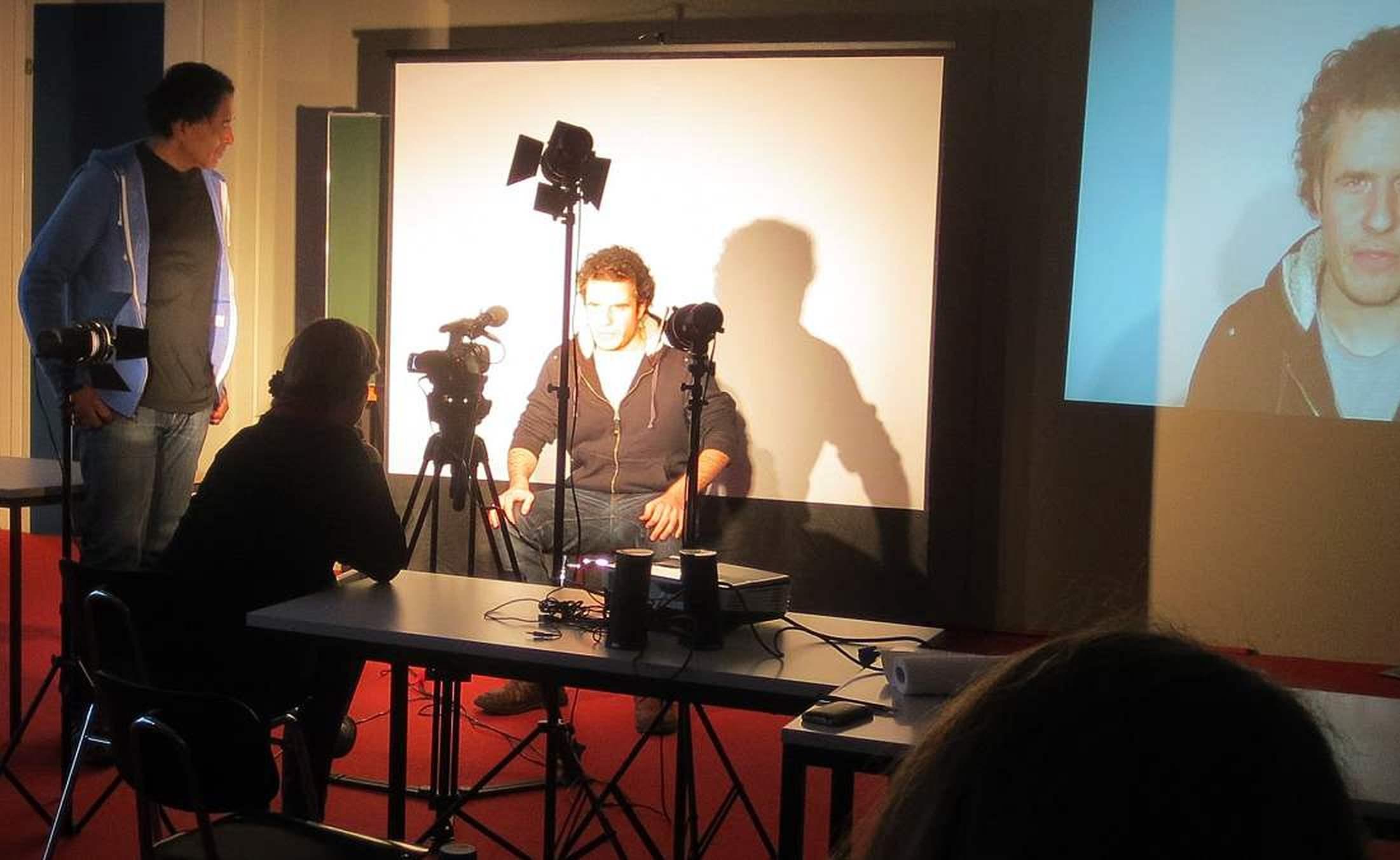 Cherno Jobatey Rhetorik-Seminar FU Berlin