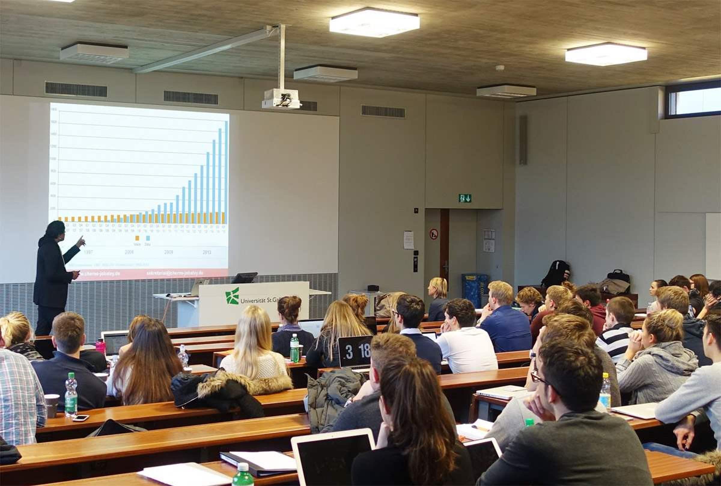 Cherno Jobatey Seminar Universität Sankt Gallen
