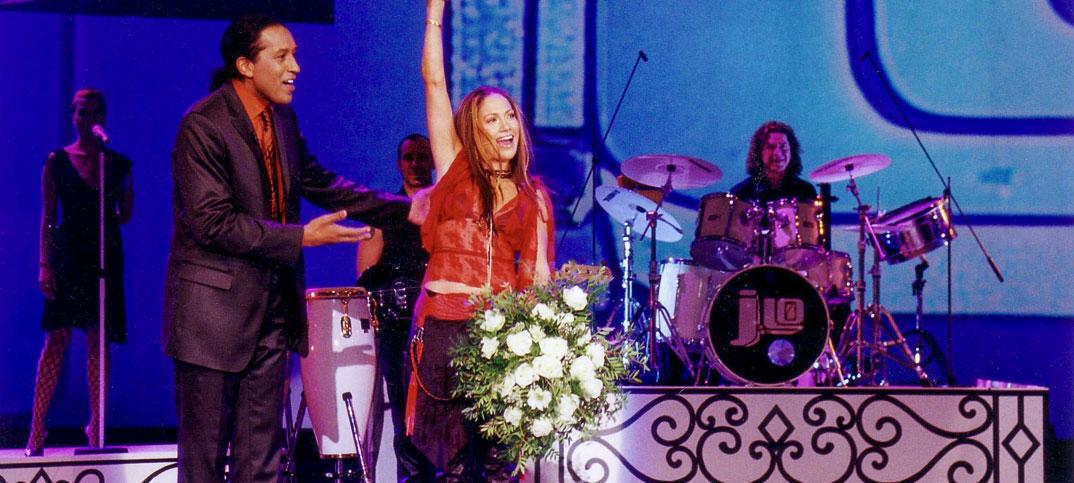 Jennifer Lopez & Cherno Jobatey