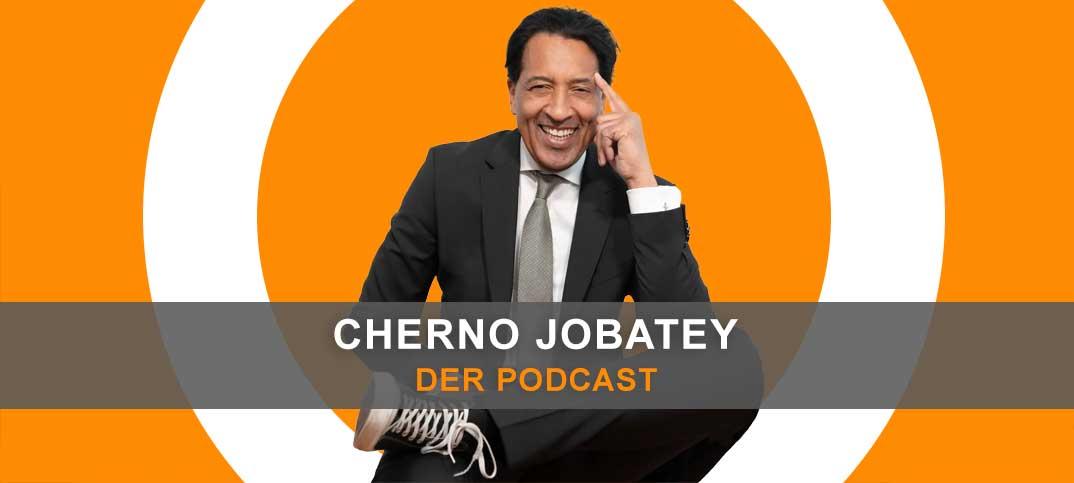 Cherno Jobatey im Podcast
