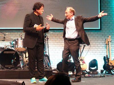 Tim Berners-Lee & Cherno Jobatey