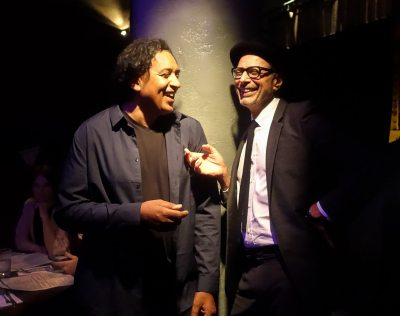 Jeff Goldblum & Cherno Jobatey