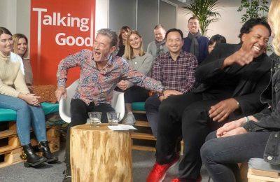 Peter Maffay & Cherno Jobatey Talking Good Talk Show